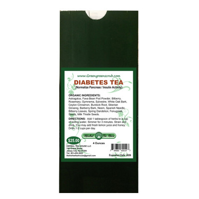 Diabetes Tea 4oz