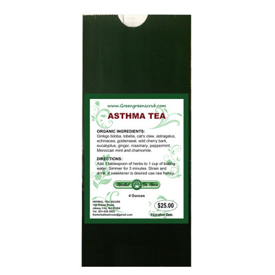 Asthma Tea 4oz by The Herbal Tea House