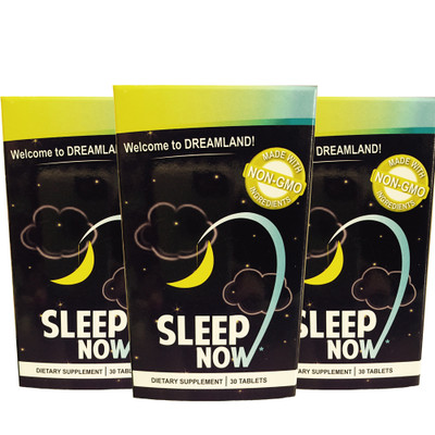 SLEEP NOW 3-Pack by Sun Valley Nutraceuticals