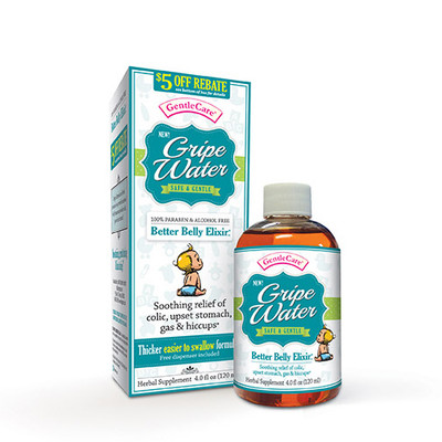 Gentle Care Gripe Water 4 fl oz (120 ml)