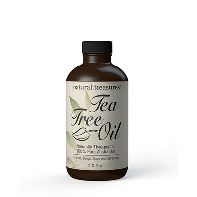 Natural Treasures Tea Tree Oil 2 fl oz