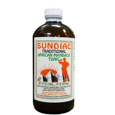 Sundial Traditional African Man Back Tonic 32oz