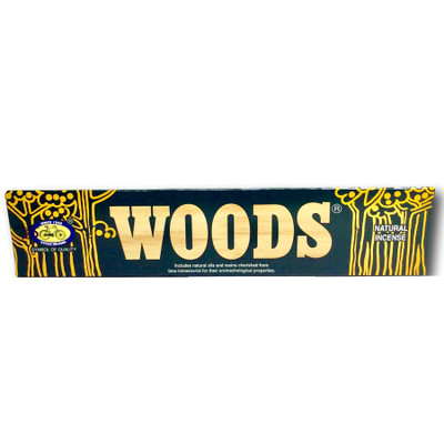 Woods Natural Incense (20 Sticks)