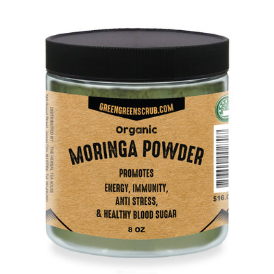 Organic Moringa Powder 8oz