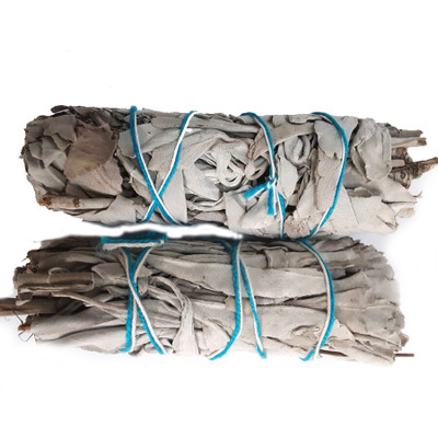 White Sacred Sage Smudge Stick - small (Pack of 2)
