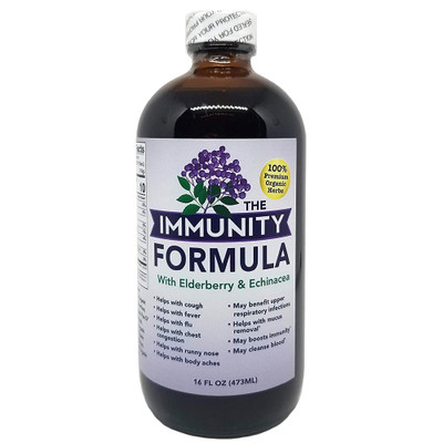 Immunity Formula with Elderberry and Echinacea 16 FL OZ
