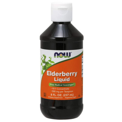 NOW Elderberry Liquid Concentrate 8oz