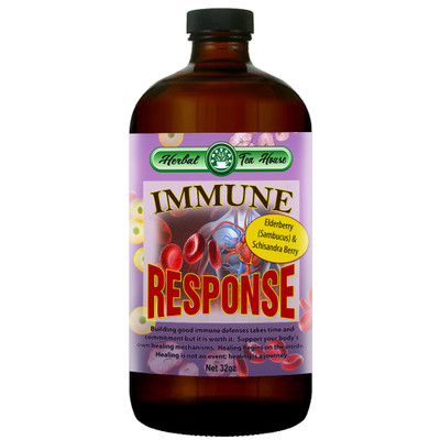 Immune Response with Elder Sambucus and Schisandra Berries 32oz