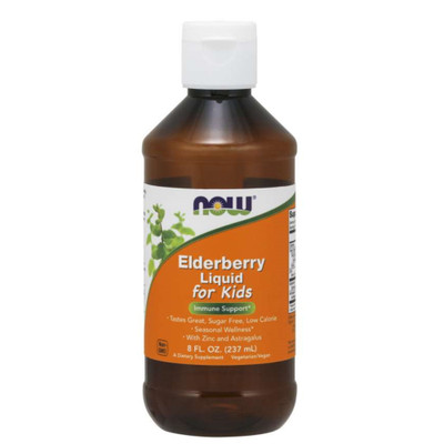 NOW Elderberry Liquid for Kids 8oz