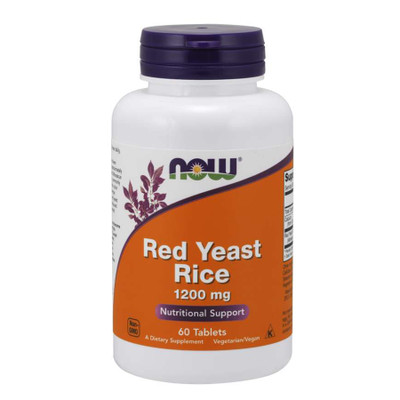 NOW Red Yeast Rice 1200 mg 60 Tablets