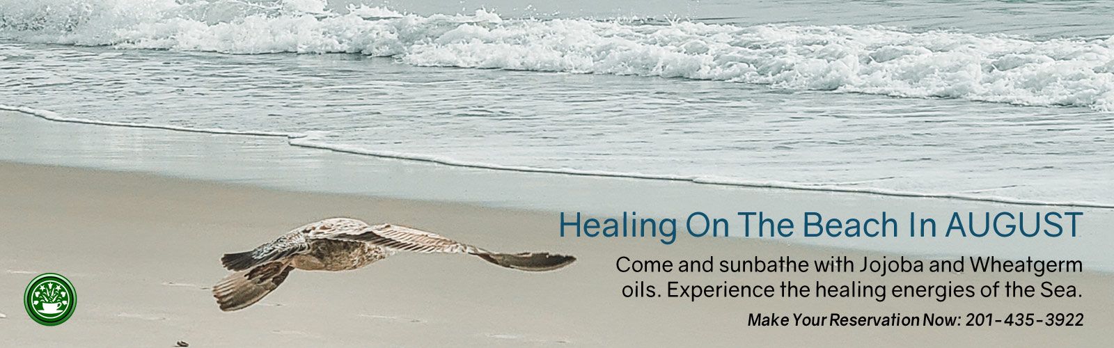 Healing On the Beach in August
