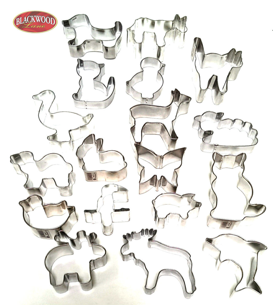 dda613d7f97a Assorted Animals Cookie Cutters