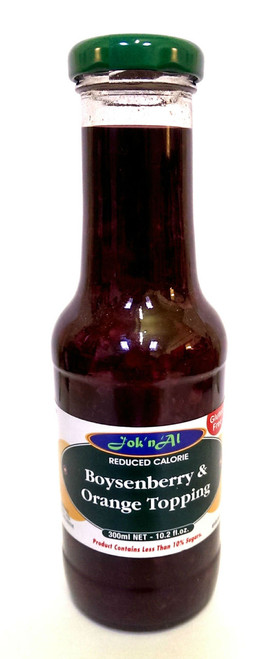 Jok' n' Al - Boysenberry and Orange Topping (300ml)