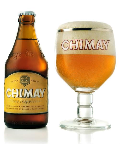 Chimay White Beer (24 x 330ml bottle)