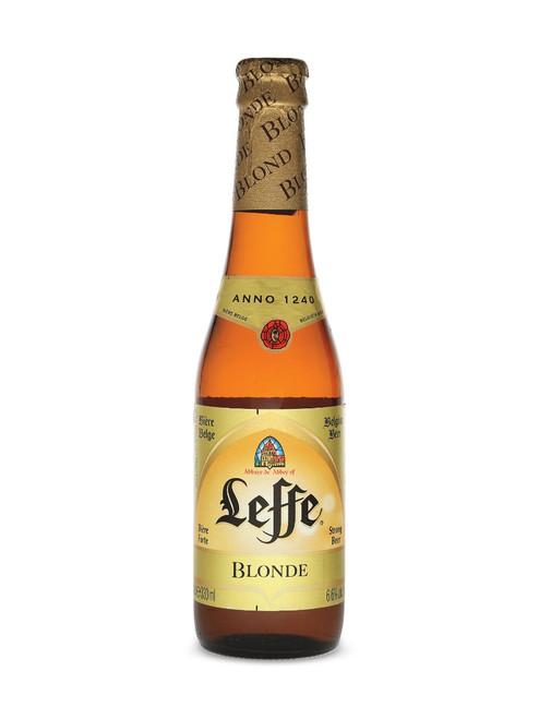 Leffe Blonde Beer (24 x 330ml bottle)
