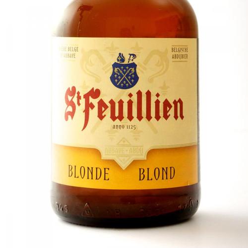 St. Feuillien-Blonde / Blond Beer (24 x 300ml bottle)