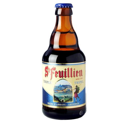 St. Feuillien Triple Beer (24 x 330ml bottle)