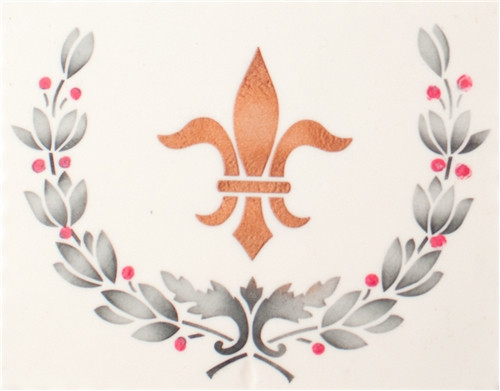 Designer Stencils -  Parisian Cake Stencil Set (9.52 cm x 4.57cm)