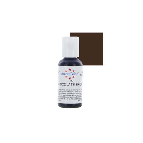Americolor - Soft Gel Paste Chocolate Brown(.75oz)