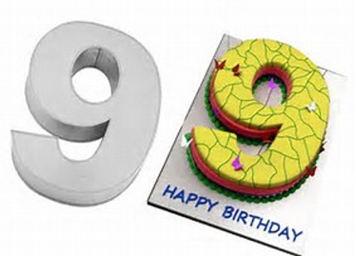 LARGE NUMBER 9 CAKE TIN (HIRE ONLY)