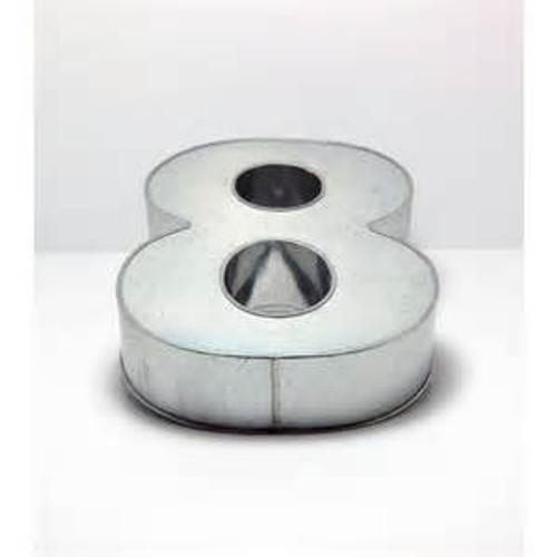 LARGE NUMBER 8 CAKE TIN (HIRE ONLY)