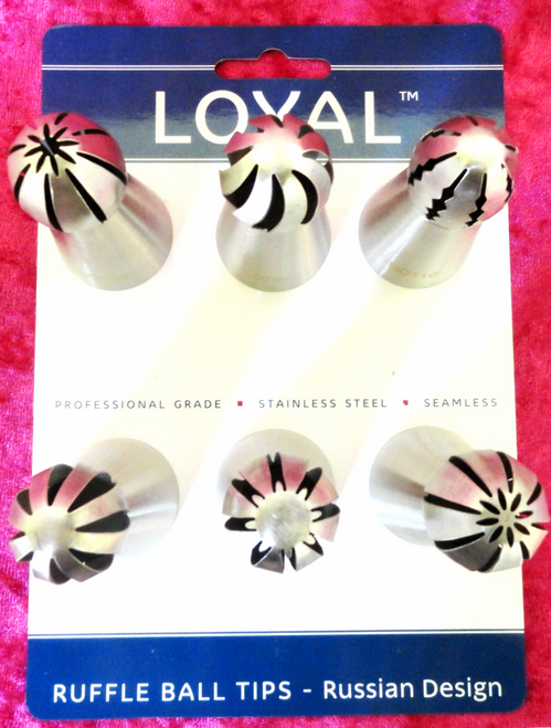 Loyal - Russian Ruffle Ball Tip (6 PCS.)