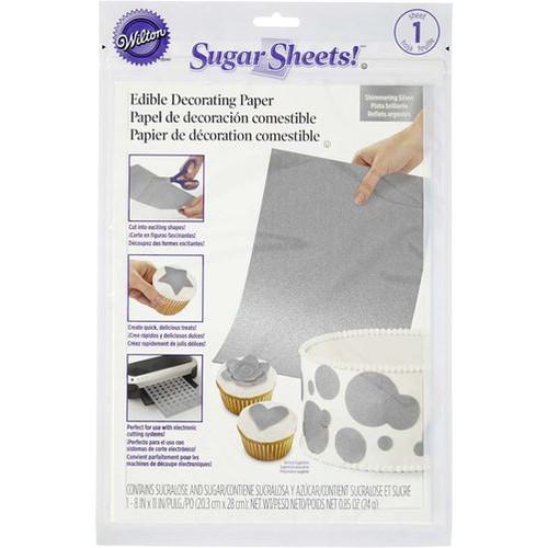 Wilton - Silver Sugar sheets