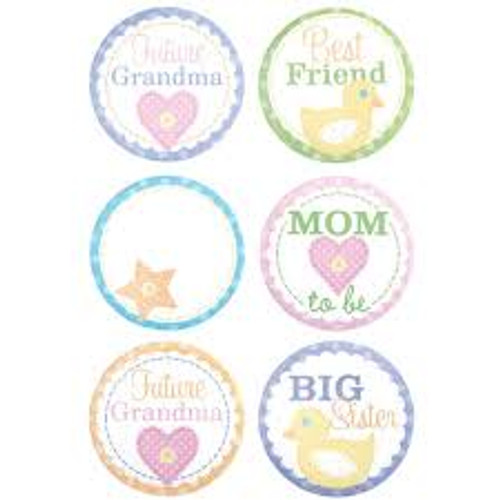 Wilton - Baby Shower Party Buttons