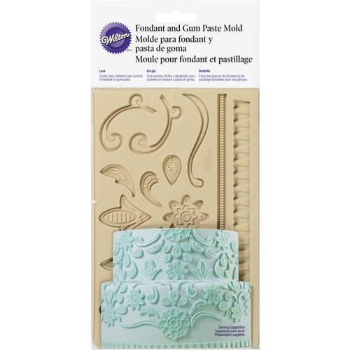 Wilton - Lace Themed Fondant and Gum Paste Mould