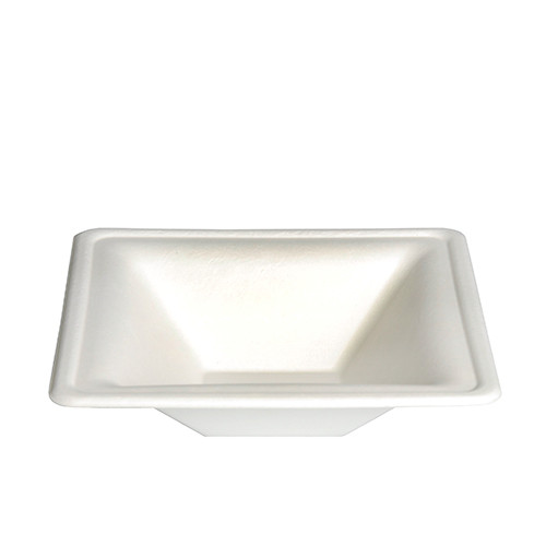 Papstar -  Square Soup bowls 16cm 350ml (12pcs)