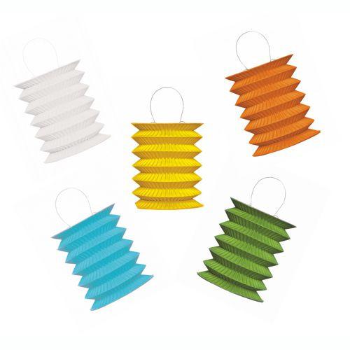 Papstar - Assorted Mini Lanterns