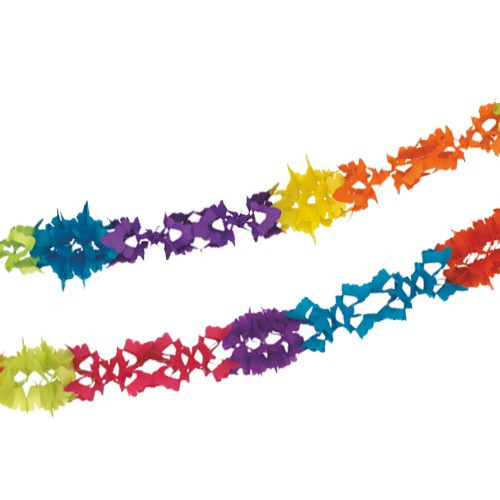 Papstar - 4m Garland Coloured