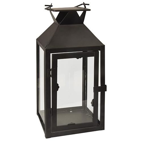 Papstar - Metal Lantern Black 30cm