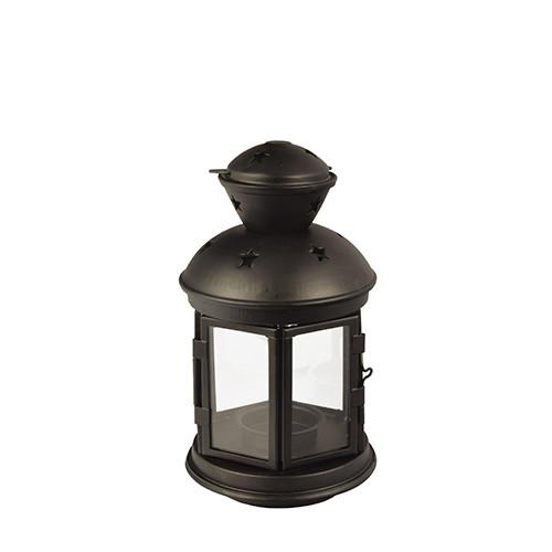 Papstar - Metal Lantern Black 21cm