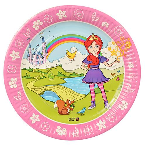 "Papstar - Paper Plates Magic Xperience ""Princess"" 23cm (10pcs)"