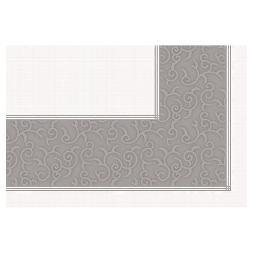 """Papstar - Tablecloth non woven """"soft selection Plus"""" 80cmx80cm grey"""