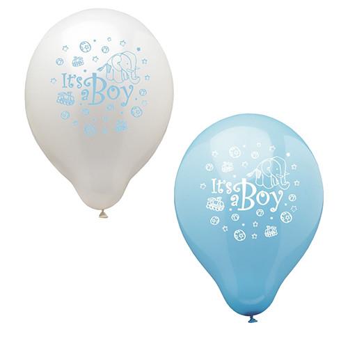 """Papstar - Balloons """"its a boy"""" 25cm (12pcs)"""