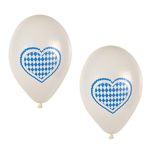 """Papstar - Balloons """"Bavaria Blue"""" 25cm (20pcs)"""