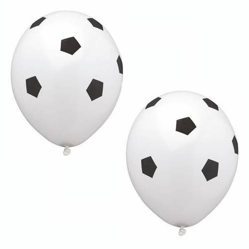 "Papstar - Balloons ""Soccer Ball"" 25cm (8pcs)"