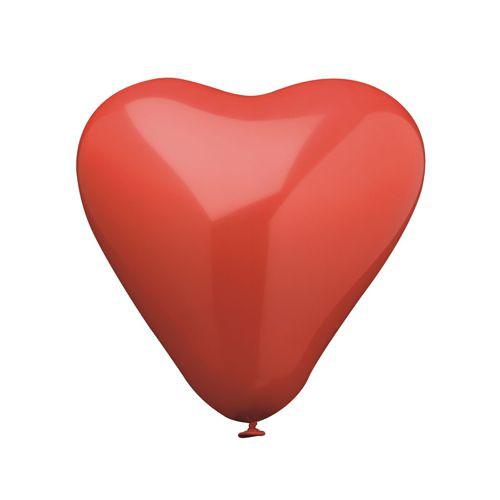 "Papstar - Balloons ""Red Heart"" 19cm"
