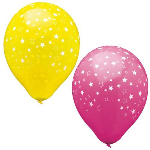 "Papstar - Balloons Assorted  ""Stars"" 29cm"