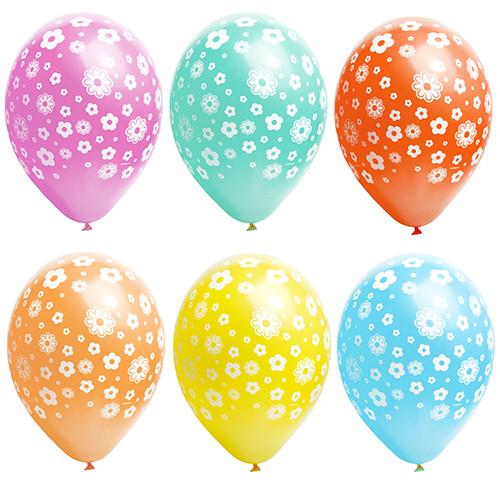 """Papstar - Balloons Assorted  """"flower"""" 29cm"""