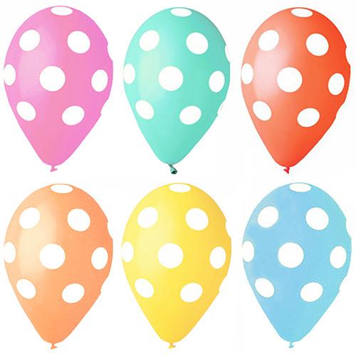 "Papstar - Balloons Assorted  ""Dots"" 29cm"