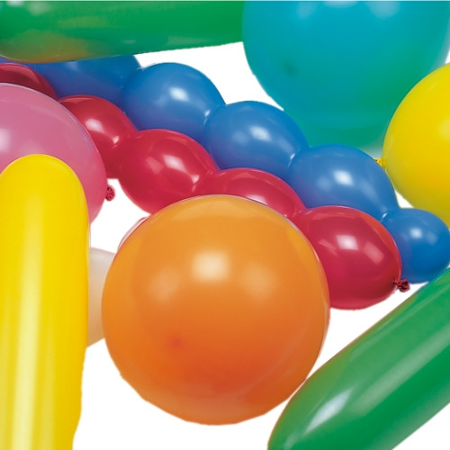 """Papstar - Balloons assorted """"different shapes"""" extra big(75pk)"""
