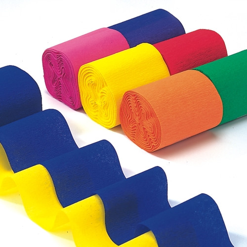 """Papstar - Deco streamers """"Assorted"""""""