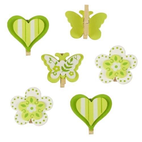 """Papstar - Decoration Clips Kiwi """"Little Things"""""""