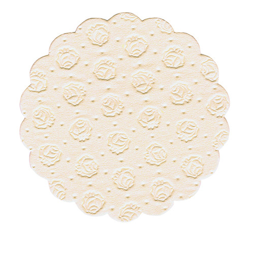 Papstar - Cup Doilies round 9cm Assorted 9-ply