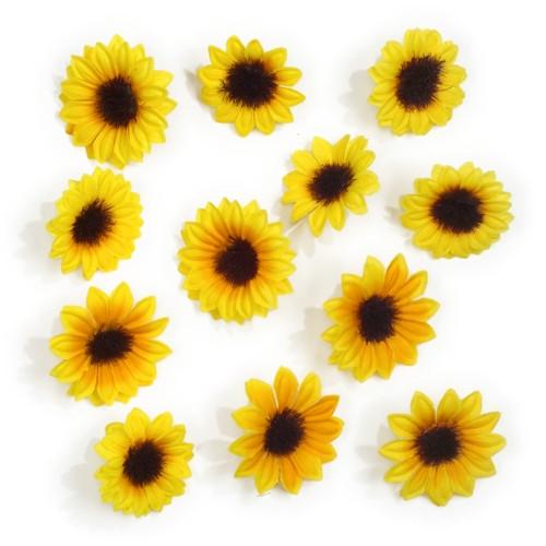 "Papstar - Decoration Yellow ""sunflowers"""