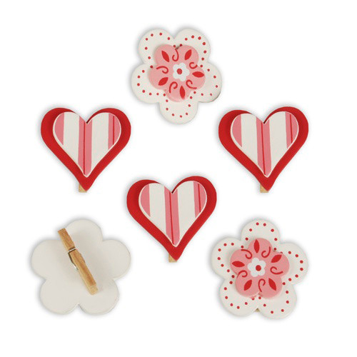 """Papstar - Decoration Accessories  red """"Little Things"""""""
