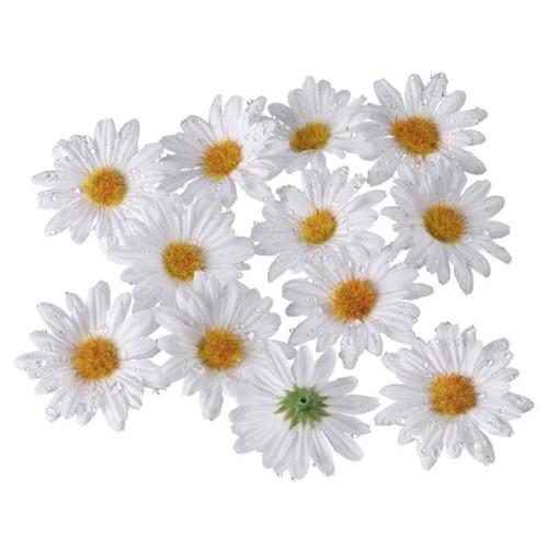 "Papstar - Decoration White ""daisy"""